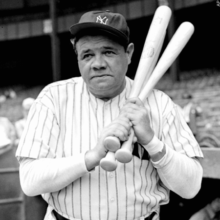 Success Quote Babe Ruth New York Yankees
