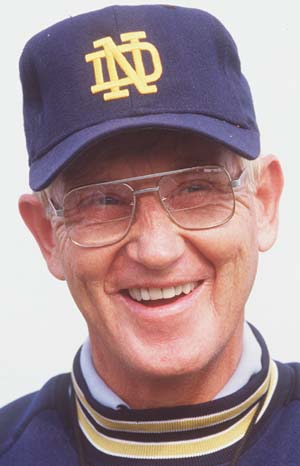 Success Quote Lou Holtz Notre Dame Fighting Irish